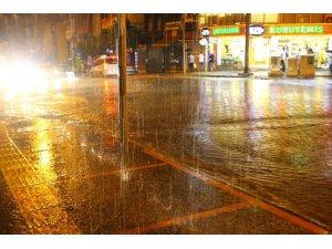 Aydın'da yağmur sevinci
