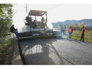 Fatsa'da OSB yolu asfaltlandı