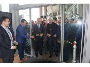Akhisar'da 'Kırk çizgi kırk hadis' sergisi açıldı
