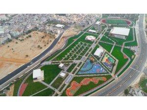 Hasan Celal Güzel Kültür ve Spor Vadisi'nde çalışmalar tamamlandı