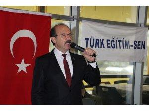 Türk Eğitim-Sen üyeleri kahvaltıda buluştu