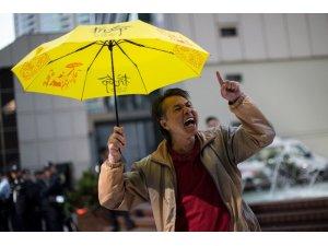 Hong Kong'da şemsiye protestocularına yargılama