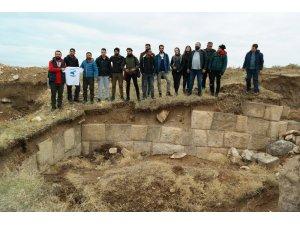 2600 yıllık kent kalıntısına yoğun ilgi