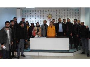 AK Parti Van Büyükşehir Belediye Başkan aday adayı Türkoğlu Ateş'in teşkilat ziyaretleri