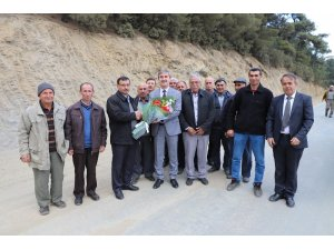 Başkan Şirin kırsal mahallelere çıkarma yaptı