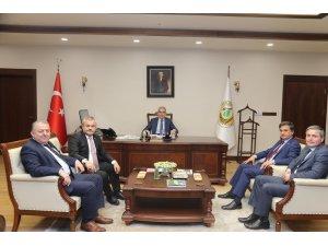 AK Partili vekillerden Orman Genel Müdürüne ziyaret
