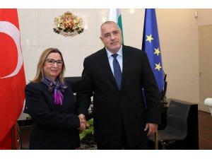 Bakan Pekcan, Bulgar Başbakanı Borisov ile görüştü