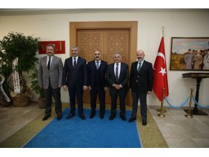 Başkanlar'dan Vali Günaydın'a ziyaret