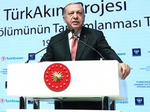 'TürkAkım Projesi Deniz Bölümünün Tamamlanması Töreni' gerçekleştirildi