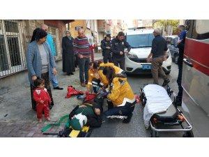 Kocasından şiddet gören Iraklı kadın kurtulmak için kendini pencereden attı