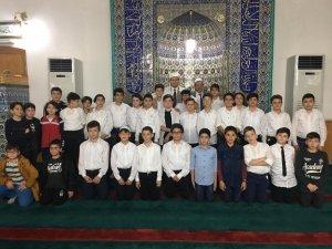 Fatsa'da çocuklardan Mevlid Kandili programı