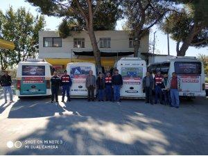 Aydın jandarması 'Trafik Hayattır'  projesine devam ediyor