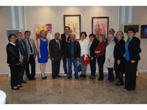Adana Çukurova Güzel Sanatlar Derneği'nden karma resim sergisi