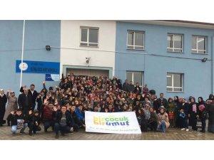 'Bir el de sen uzat Anadolu'ya projesi