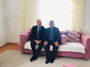 Kaymakam Akın'dan köylere ziyaret