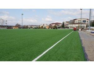 Kocaeli'de amatör spor sahaları yenileniyor