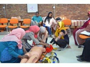 ATKAP kapsamında yetişen yerli eğiticilerden Sudan'da eğitim