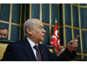 """MHP lideri Bahçeli: """"Veliaht Prens için çember daralmaktadır"""""""