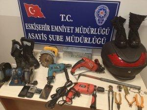 Ev ve iş yerlerinden hırsızlık şüphelileri yakalandı