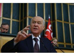 """MHP lideri Bahçeli: """"AB ordusunun kurulması resmileşirse küresel zeminde büyük bir cepheleşme kaçınılmazdır"""""""