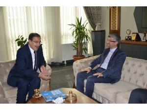 İran Başkonsolos Soltanzaden'den Başkan Bulutlar'a ziyaret