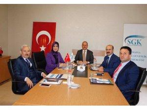 SGK müdürlerinden Amasya'da toplantı