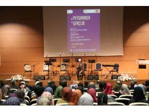 """NEVÜ'de """"Peygamberimiz ve Gençlik"""" konulu panel düzenlendi"""