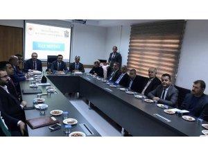 Siirt'te Tarımsal Koordinasyon ve Değerlendirme toplantısı yapıldı
