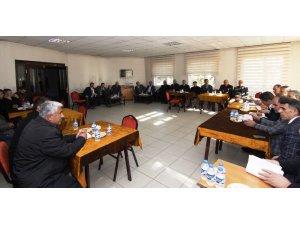 Erciş'te tarımsal sulama sorunları masaya yatırıldı