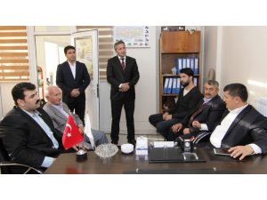 Kaymakam Mehmetbeyoğlu'ndan Erciş Ziraat Odasına ziyaret