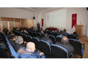 Sivas Belediyesi personeline yangın eğitimi