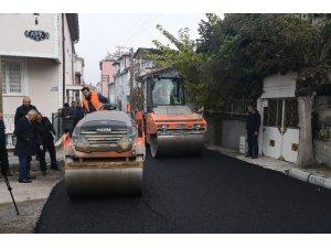 """Başkan Günaydın: """"Bu, siyaset asfaltı değil, kalıcı asfalt"""""""