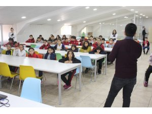 Öğrencilere böbrek sağlığı ve beslenme önerileri anlatıldı