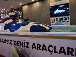 İlk insansız deniz aracı görücüye çıktı