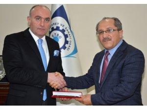 BMC Genel Müdürü Osman Dur'dan ETSO'ya ziyaret