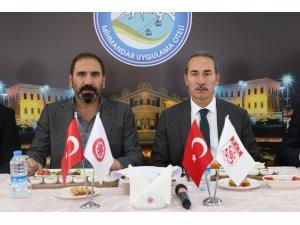 Cumhuriyet Üniversitesi'nden Sivasspor'a moral yemeği