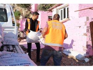Kuşadası Belediyesinden 2 bin 500 aileye kömür yardımı