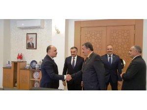 Başkan Cabbar'dan Vali Günaydın'a Hayırlı Olsun Ziyareti