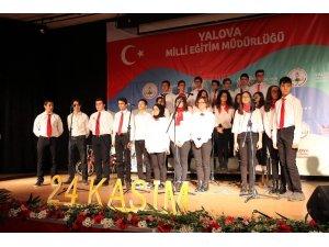 Yalova'da Öğretmenler Günü coşkuyla kutlandı
