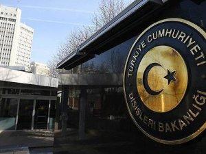 Türkiye'den Irak'a taziye mesajı