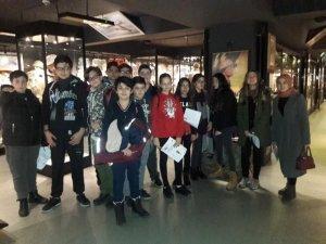 SİMURG'lu öğrenciler dünyanın ilk ve tek canlı tarih ve diorama müzesini gezdi