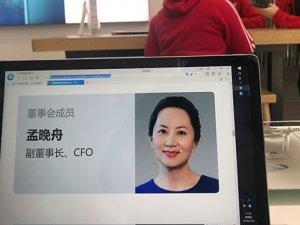Huawei'nin yöneticisi tutuklandı