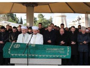Cumhurbaşkanı Erdoğan, Kasımpaşa'dan komşusu Kadir Turgut'un cenazesine katıldı