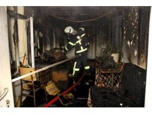 Menteşe'de ev yangını
