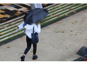 Kahramanmaraş'ta yağışlı etkili oluyor