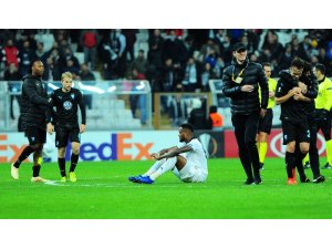 Beşiktaş'ın Avrupa serüveni sona erdi