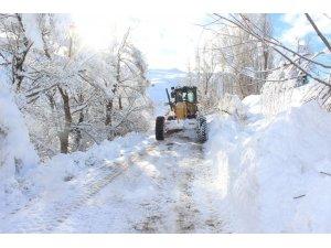 Ağrı'da 40 köy yolu ulaşıma kapandı