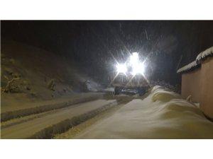 Sarıkamış Belediyesinin kar mesaisi başladı