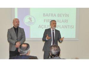 """Bafra'da """"Beyin Fırtınaları"""" açılış toplantısı yapıldı"""