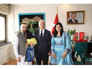 İl Göç İdaresi Müdürü Özlok, Başkan Başsoy'u ziyaret etti